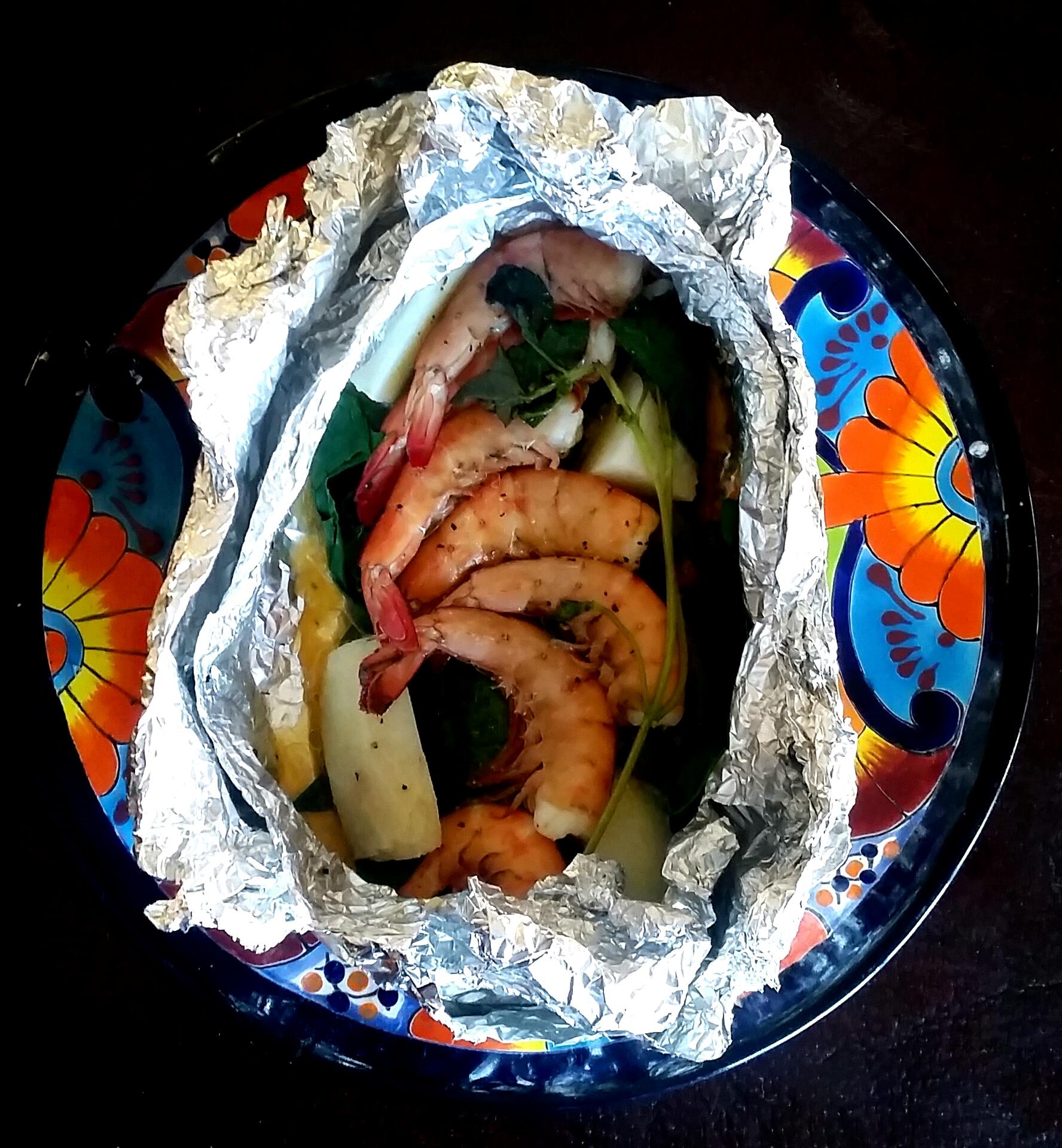 Almuaditas de Camaron ~ Happy Plate
