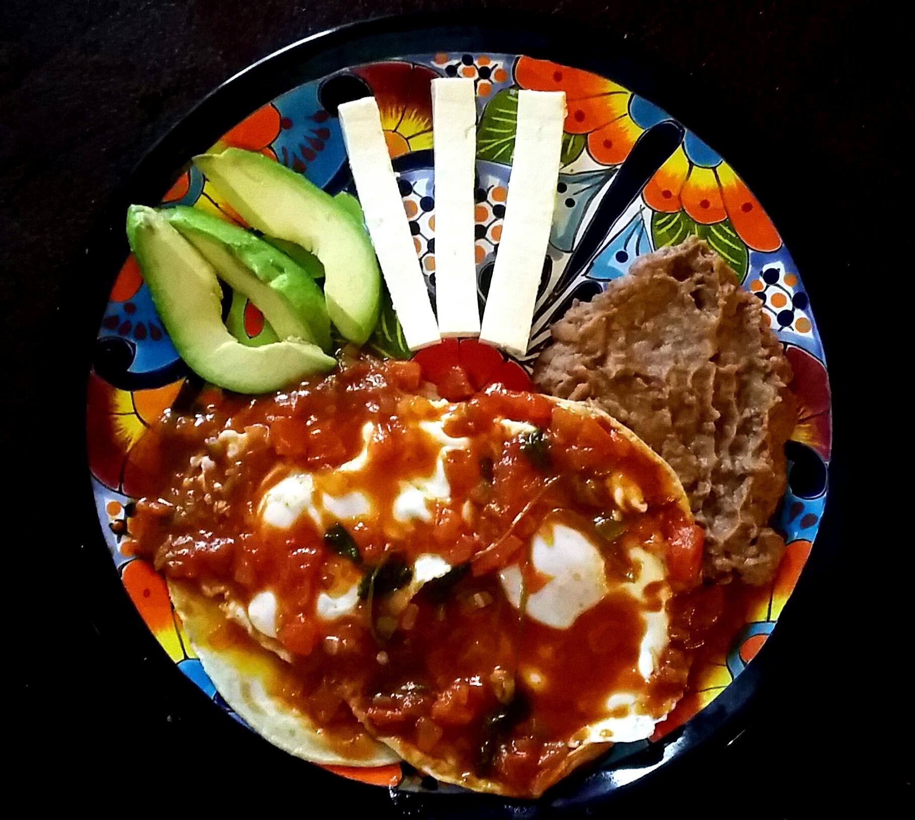 Guevos Rancheros ~ Happy Plate